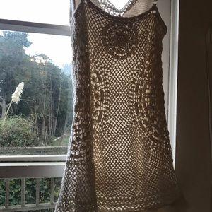 FREE PEOPLE mini lace dress